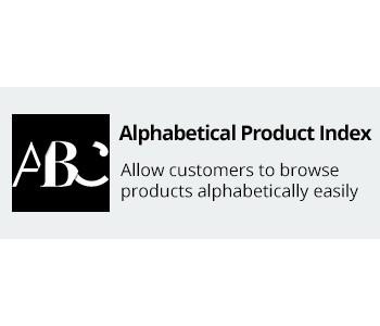 CS-Cart Alphabetical Product Index Addon