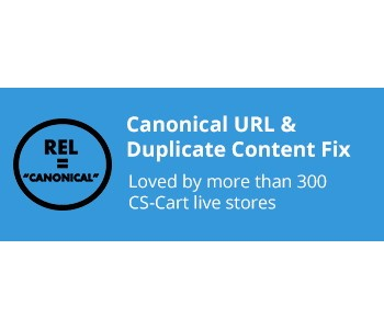 CS-Cart Canonical URL and Duplicate Content Fix Addon