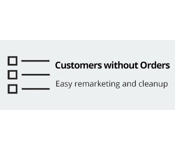 CS-Cart Customers Without Orders Addon