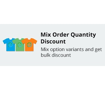 CS-Cart Mix Order Quantity Discount