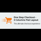 One Step Checkout - 3 Columns Flat Layout