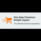 One Step Checkout - Simple Layout