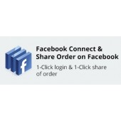 CS-Cart Facebook Connect and Share Order on Facebook Addon
