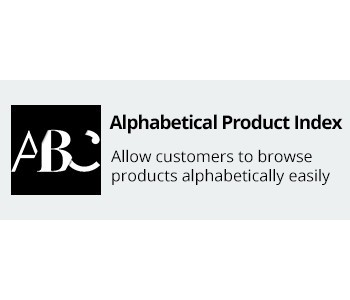 CS-Cart Alphabetical Product Index Addon