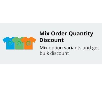 CS-Cart Mix Order Quantity Discount