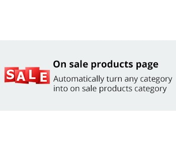 On sale products page