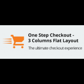 One Step Checkout - 3 Columns Flat Layout