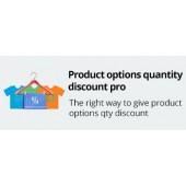 Product Options Quantity Discount Pro