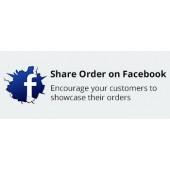 CS-Cart Share Order on Facebook Addon